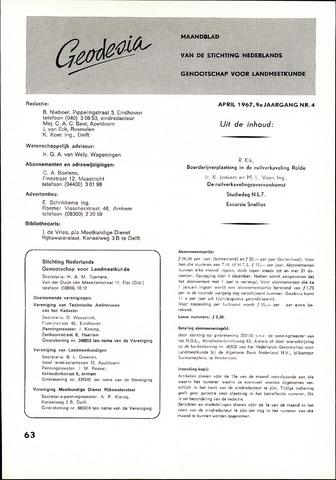 (NGT) Geodesia 1967-04-01