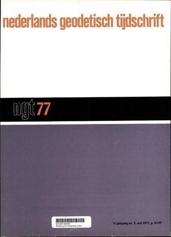 Nederlands Geodetisch Tijdschrift (NGT) 1977-05-01