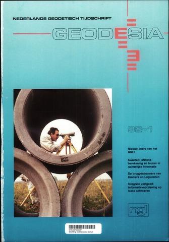 (NGT) Geodesia 1992-01-01