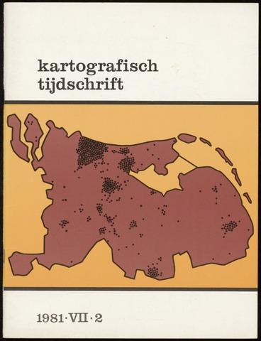 Kartografisch Tijdschrift 1981-04-01