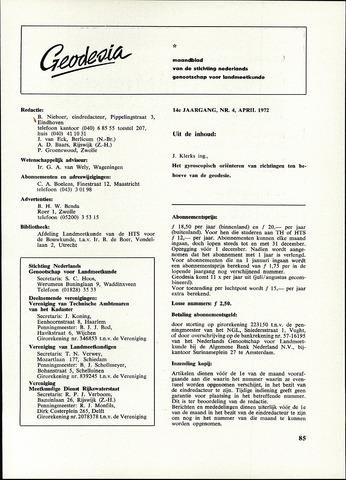 (NGT) Geodesia 1972-04-01