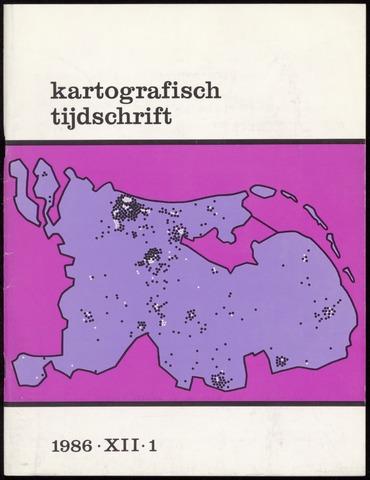Kartografisch Tijdschrift 1986-01-01