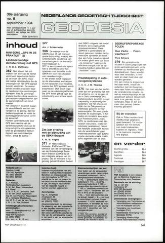 (NGT) Geodesia 1994-09-01