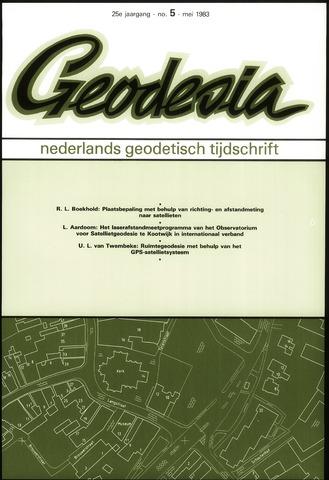 (NGT) Geodesia 1983-05-01
