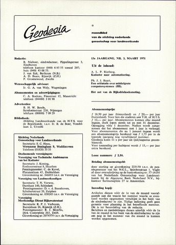 (NGT) Geodesia 1971-03-01