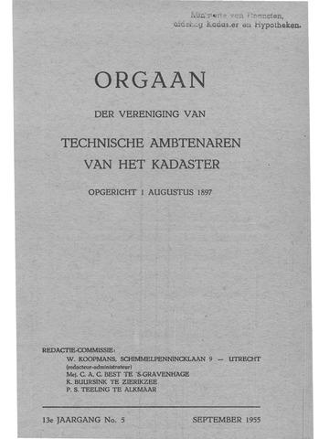 Orgaan der Vereeniging TAK 1955
