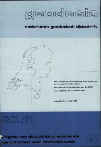 (NGT) Geodesia 1986-11-01