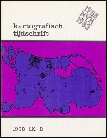 Kartografisch Tijdschrift 1983-04-01