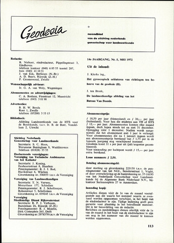 (NGT) Geodesia 1972-05-01