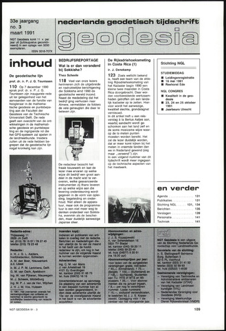 (NGT) Geodesia 1991-03-01