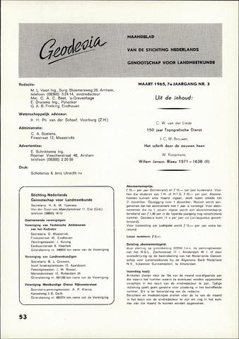 (NGT) Geodesia 1965-03-01