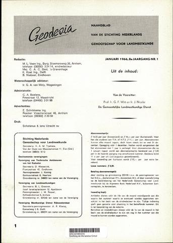 (NGT) Geodesia 1966-01-01