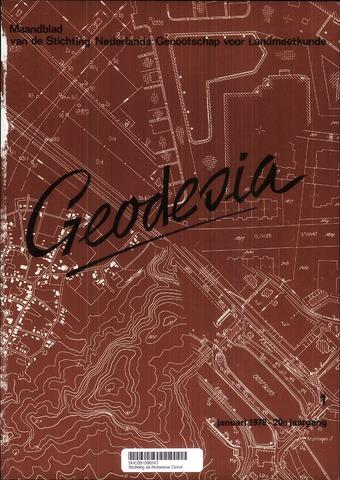 (NGT) Geodesia 1978-01-01