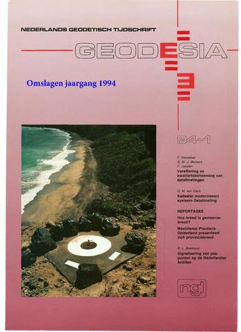 (NGT) Geodesia 1994-12-31