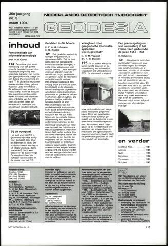 (NGT) Geodesia 1994-03-01