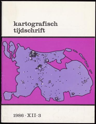 Kartografisch Tijdschrift 1986-07-01