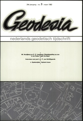 (NGT) Geodesia 1982-03-01