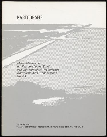 Kartografie 1973-07-01