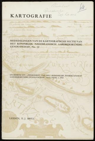 Kartografie 1964-01-01