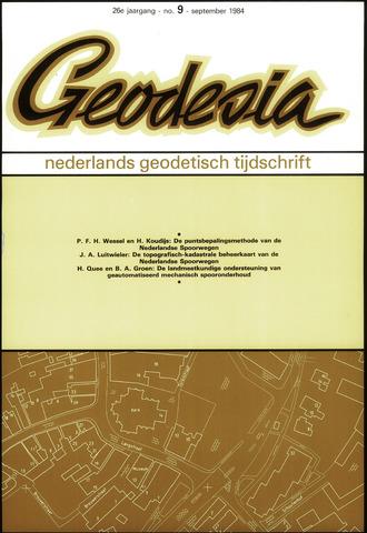 (NGT) Geodesia 1984-09-01