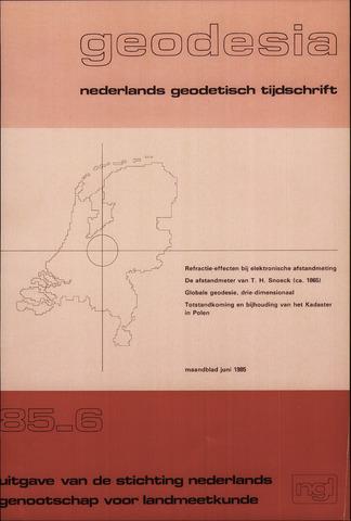 (NGT) Geodesia 1985-06-01