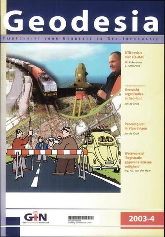 (NGT) Geodesia 2003-04-01