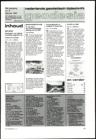 (NGT) Geodesia 1991-02-01
