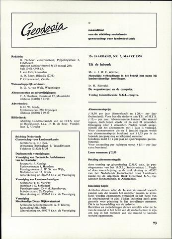 (NGT) Geodesia 1970-03-01