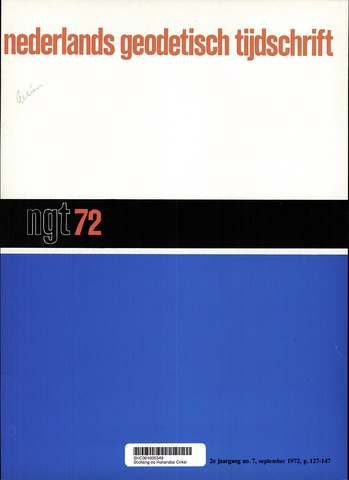 Nederlands Geodetisch Tijdschrift (NGT) 1972-09-01