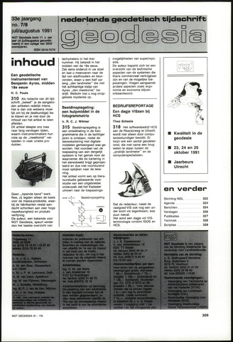 (NGT) Geodesia 1991-07-01