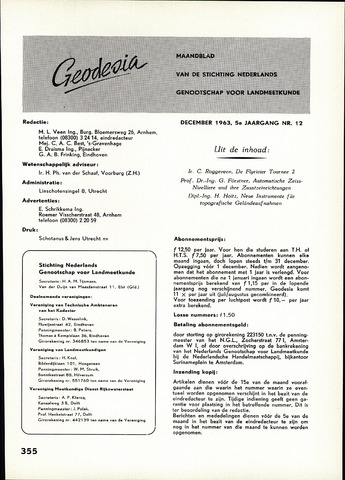 (NGT) Geodesia 1963-12-01