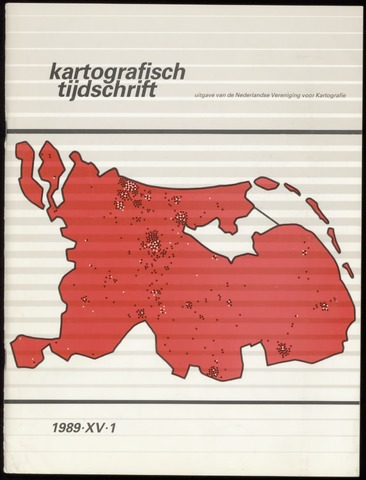Kartografisch Tijdschrift 1989