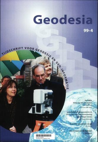(NGT) Geodesia 1999-04-01