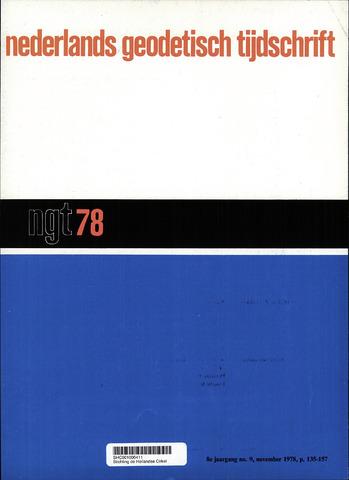Nederlands Geodetisch Tijdschrift (NGT) 1978-11-01