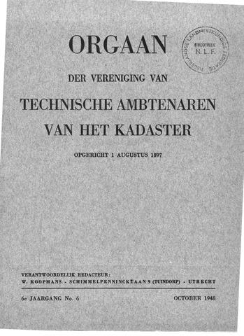 Orgaan der Vereeniging TAK 1948-10-01