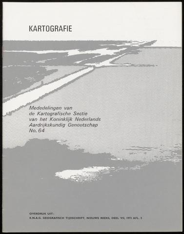 Kartografie 1973-10-01