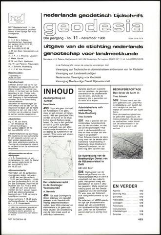 (NGT) Geodesia 1988-11-01
