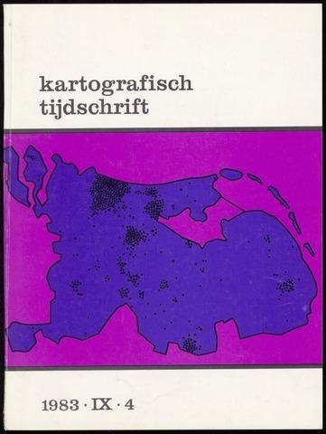 Kartografisch Tijdschrift 1983-10-01