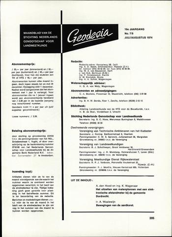 (NGT) Geodesia 1974-07-01