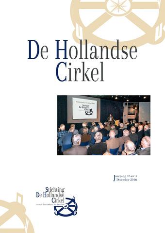 De Hollandse Cirkel (DHC) 2016-12-01