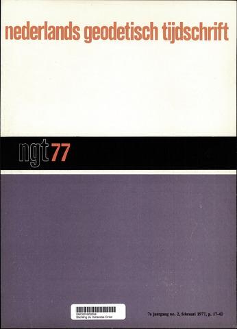Nederlands Geodetisch Tijdschrift (NGT) 1977-02-01