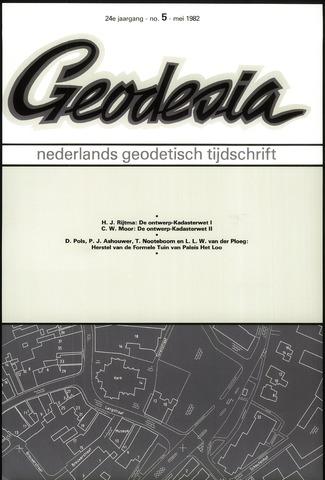 (NGT) Geodesia 1982-05-01