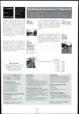 (NGT) Geodesia 1995-10-01