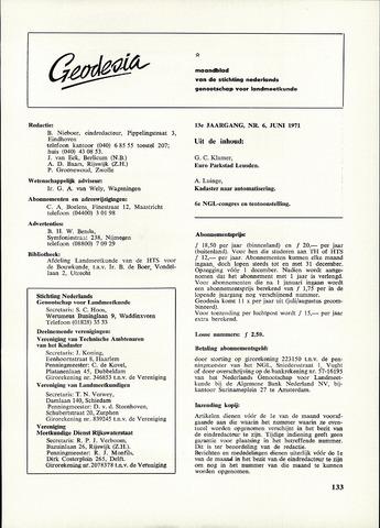 (NGT) Geodesia 1971-06-01