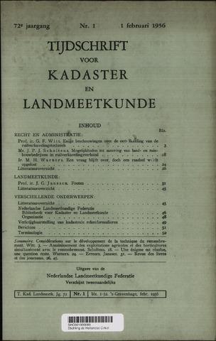 Tijdschrift voor Kadaster en Landmeetkunde (KenL) 1956