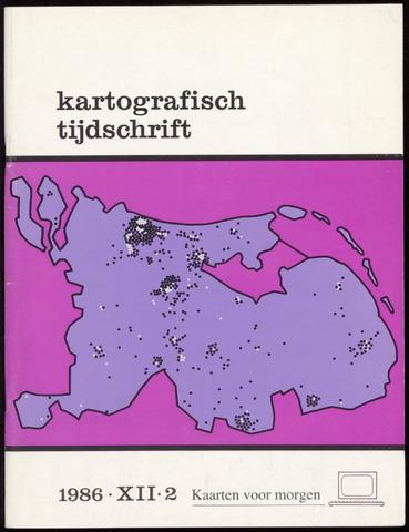 Kartografisch Tijdschrift 1986-04-01