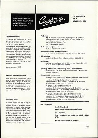 (NGT) Geodesia 1973-11-01