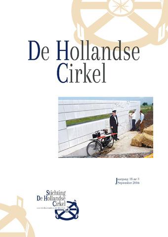 De Hollandse Cirkel (DHC) 2016-09-01