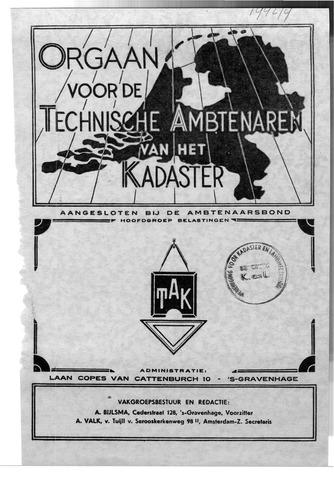 Orgaan der Vereeniging TAK 1942-08-01