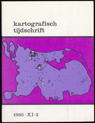 Kartografisch Tijdschrift 1985-07-01